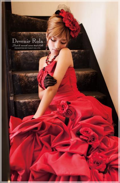 髪型 カラードレス 赤 髪型 , 写真 81