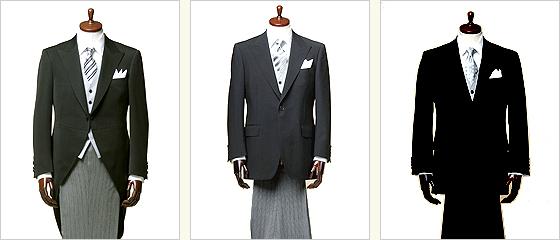 正礼装(正装)と準礼装(略礼服)とは?